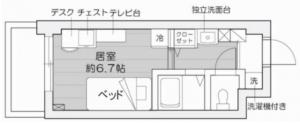 Rikkyo Dorm - RIR Layout