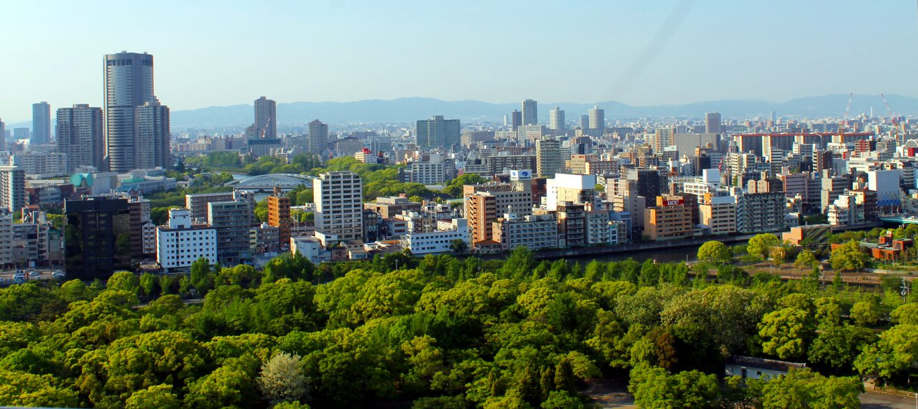 View from the Top of Osaka Castle | Footsteps of a Dreamer