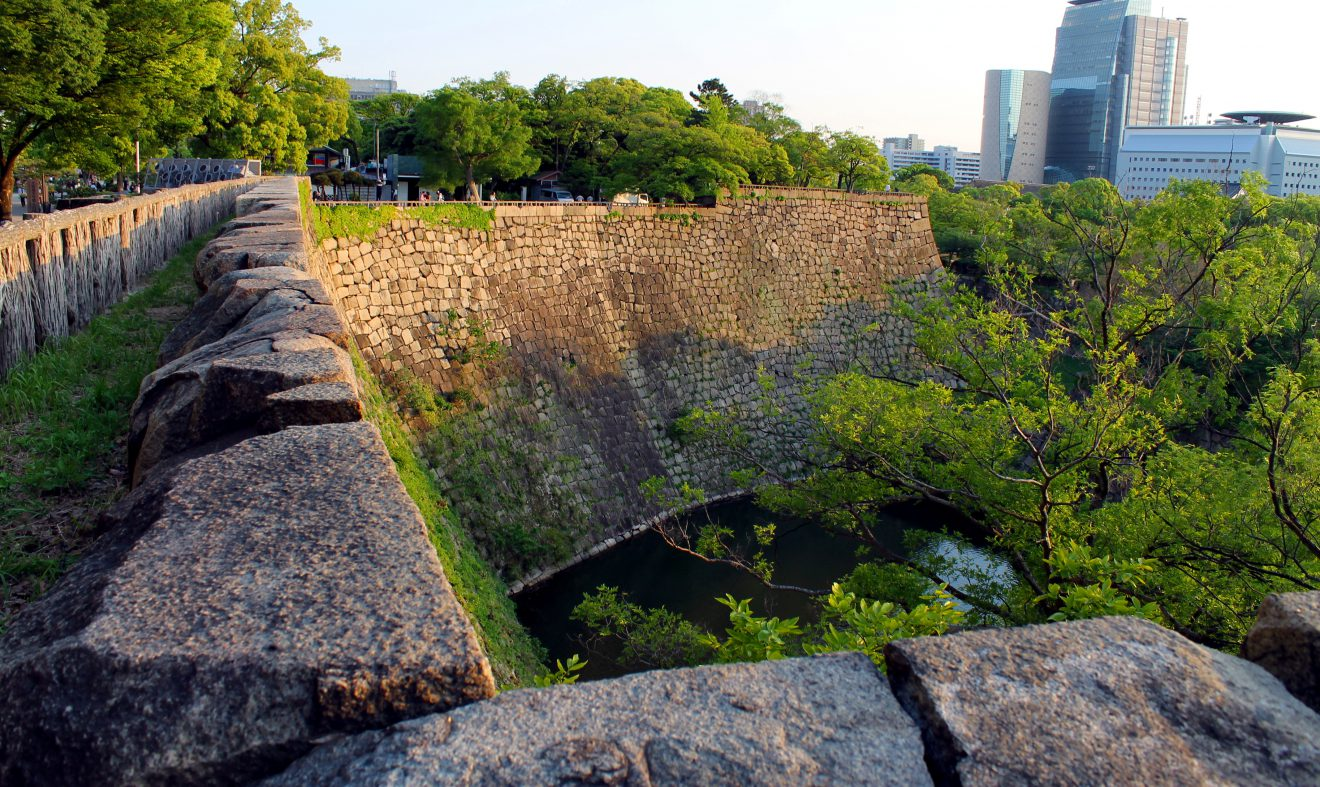 Osaka Castle Walls | Footsteps of a Dreamer