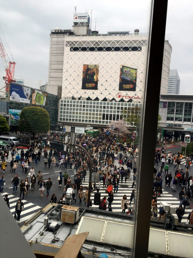 Shibuya Crossing | Footsteps of a Dreamer