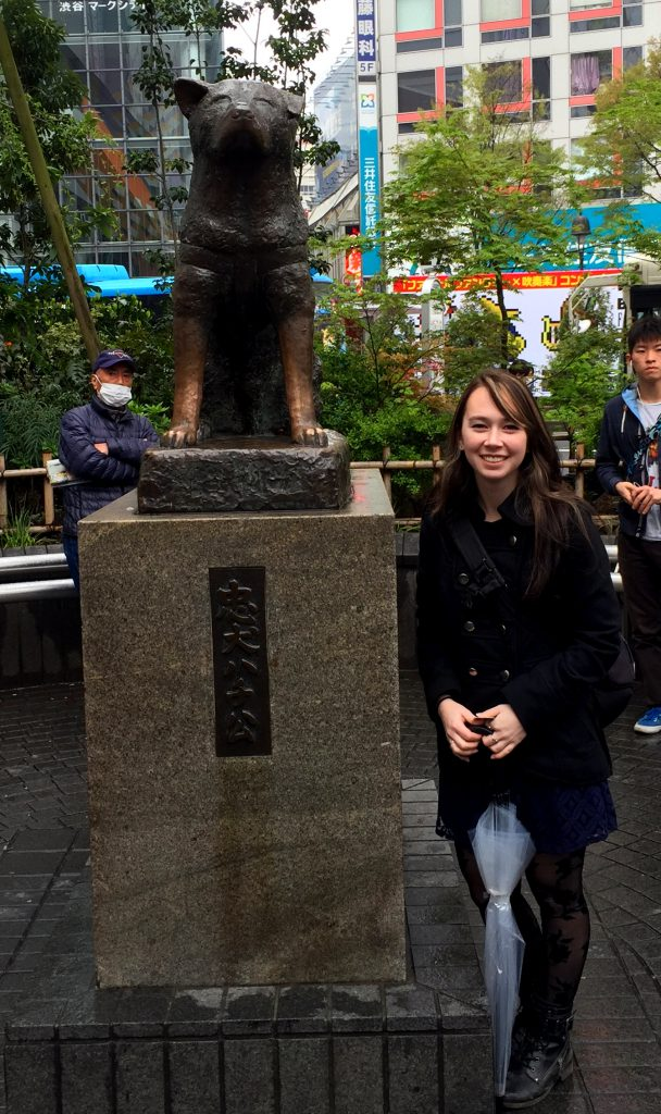 Hachiko Statue Shibuya | Footsteps of a Dreamer