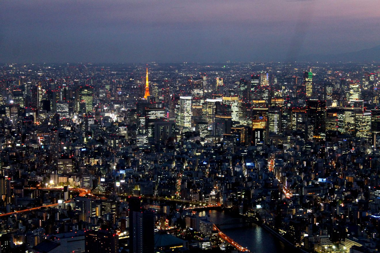 View from Tokyo Sky Tree | Footsteps of a Dreamer