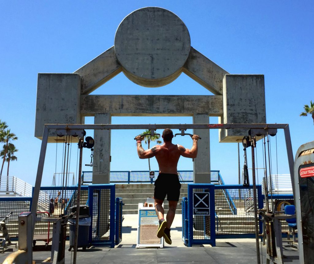 Muscle Beach Los Angeles | Footsteps of a Dreamer