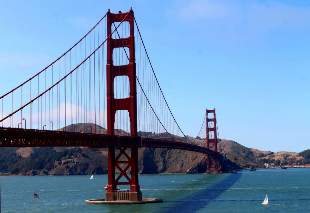Golden Gate Bridge San Francisco | Footsteps of a Dreamer