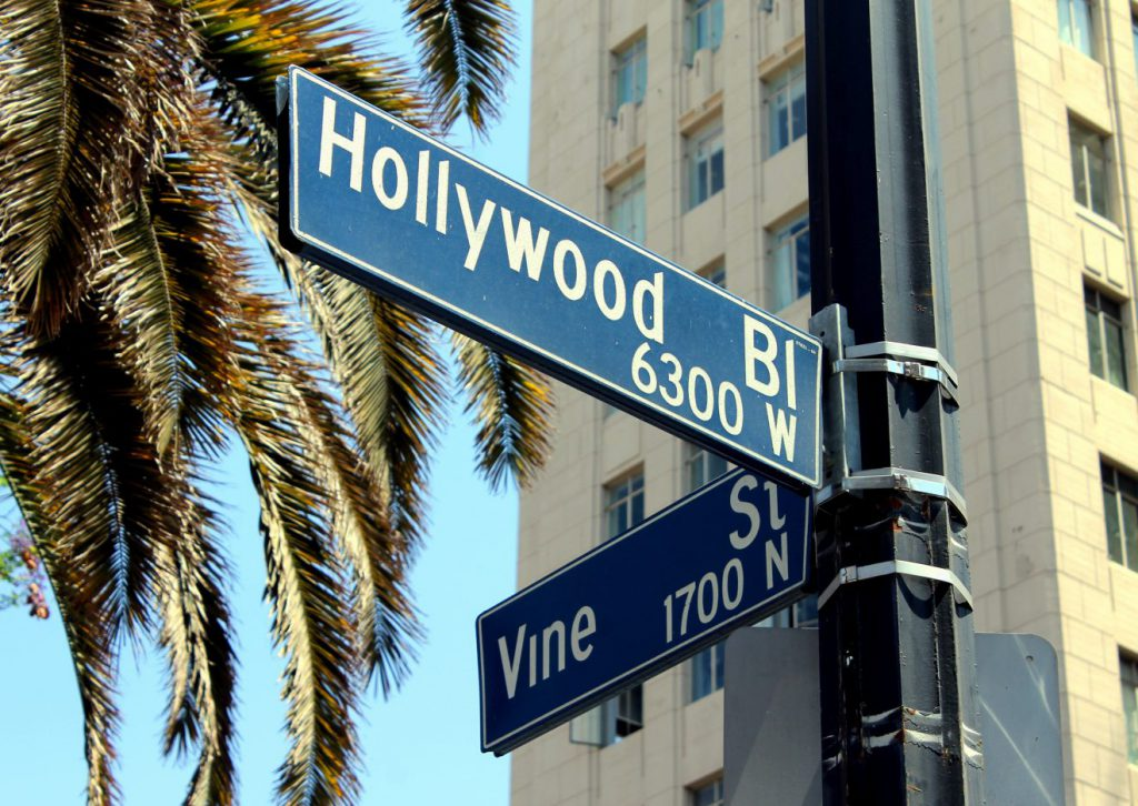 Hollywood and Vine Intersection | Footsteps of a Dreamer