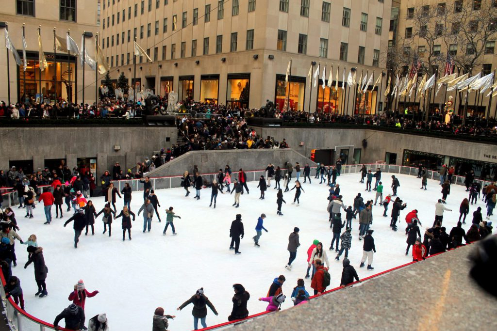 New Year's in New York: The Rink at Rockefeller