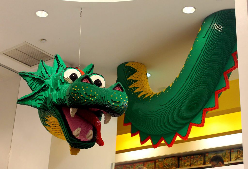 New Year's in New York: Visiting the Lego Store