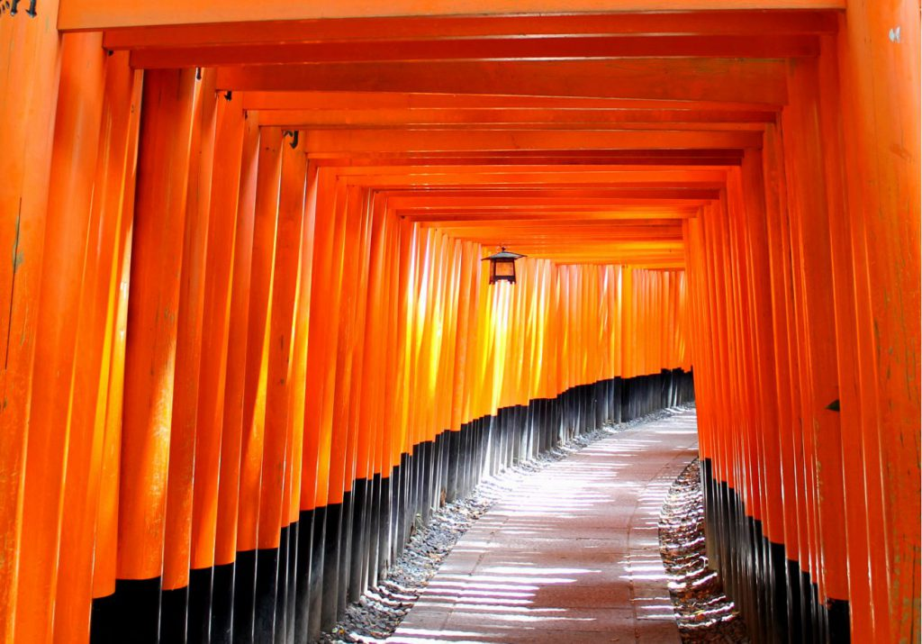 Fushimi Inari - Senbon Torii - Thousand Gates - Shrine in Kyoto