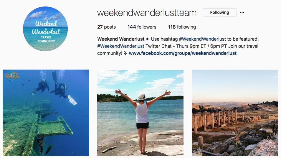 Instagram - WeekendWanderlust