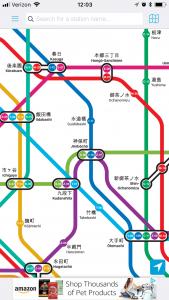 Tokyo Metro Subway Screenshot - Footsteps of a Dreamer