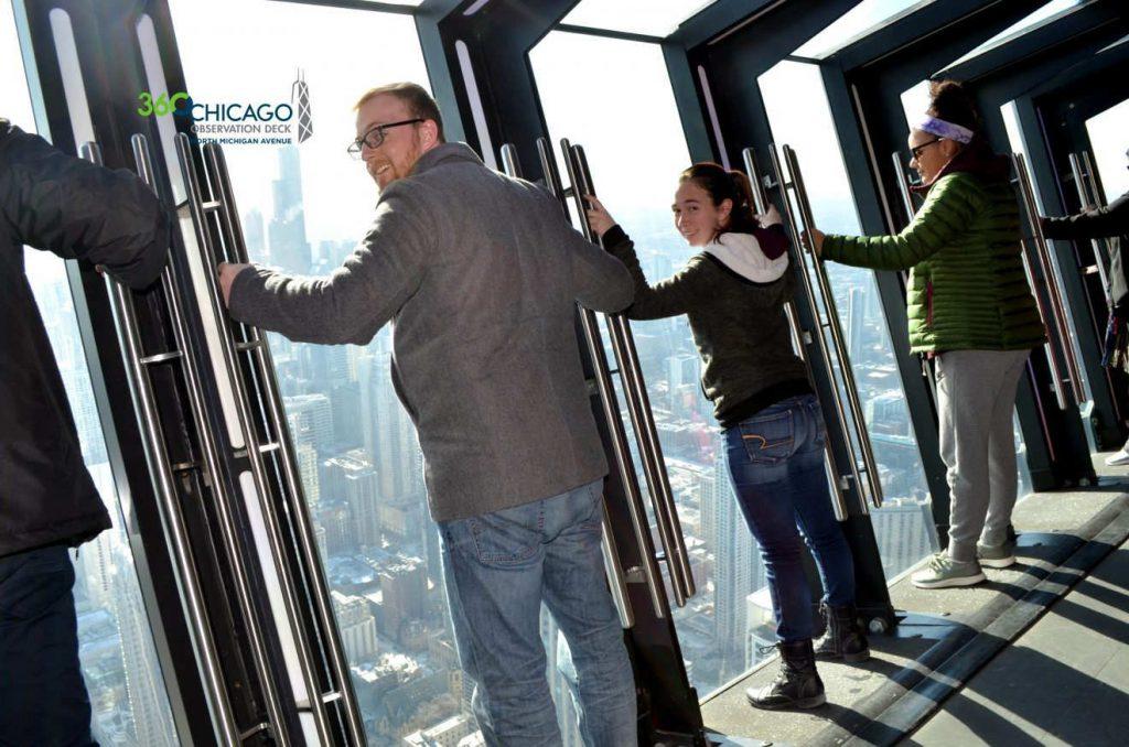 The Tilt at 360 Chicago | Footsteps of a Dreamer