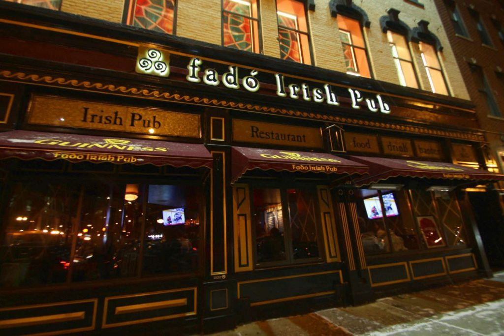 Fado Irish Pub Chicago | Footsteps of a Dreamer