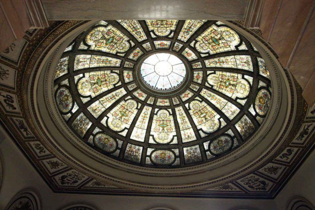 Chicago Cultural Center Dome | Footsteps of a Dreamer
