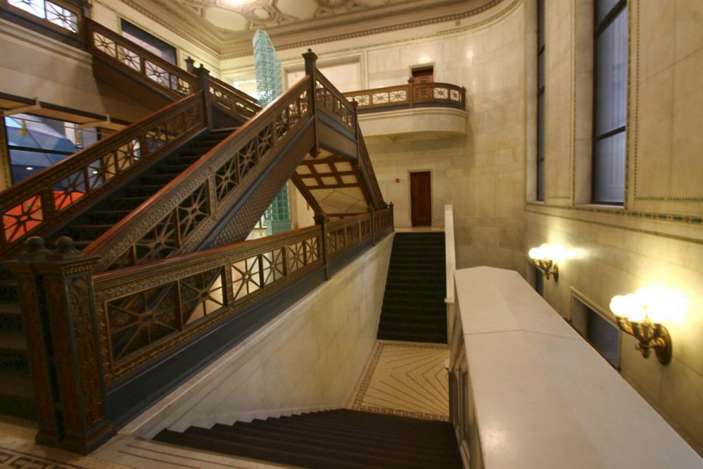 Chicago Cultural Center | Footsteps of a Dreamer