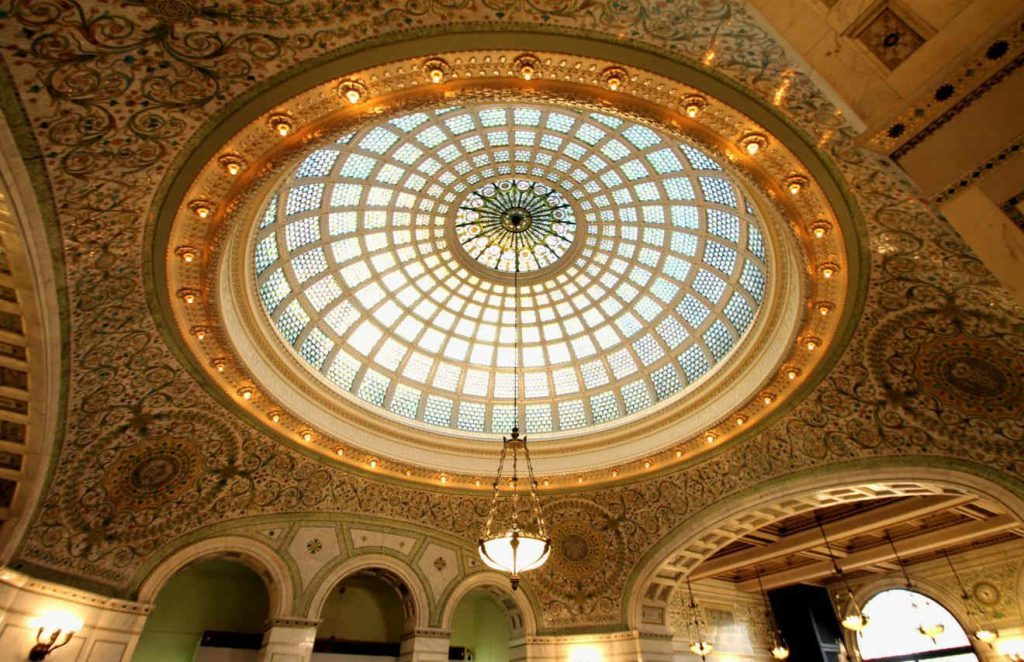 Chicago Cultural Center Tiffany Dome | Footsteps of a Dreamer