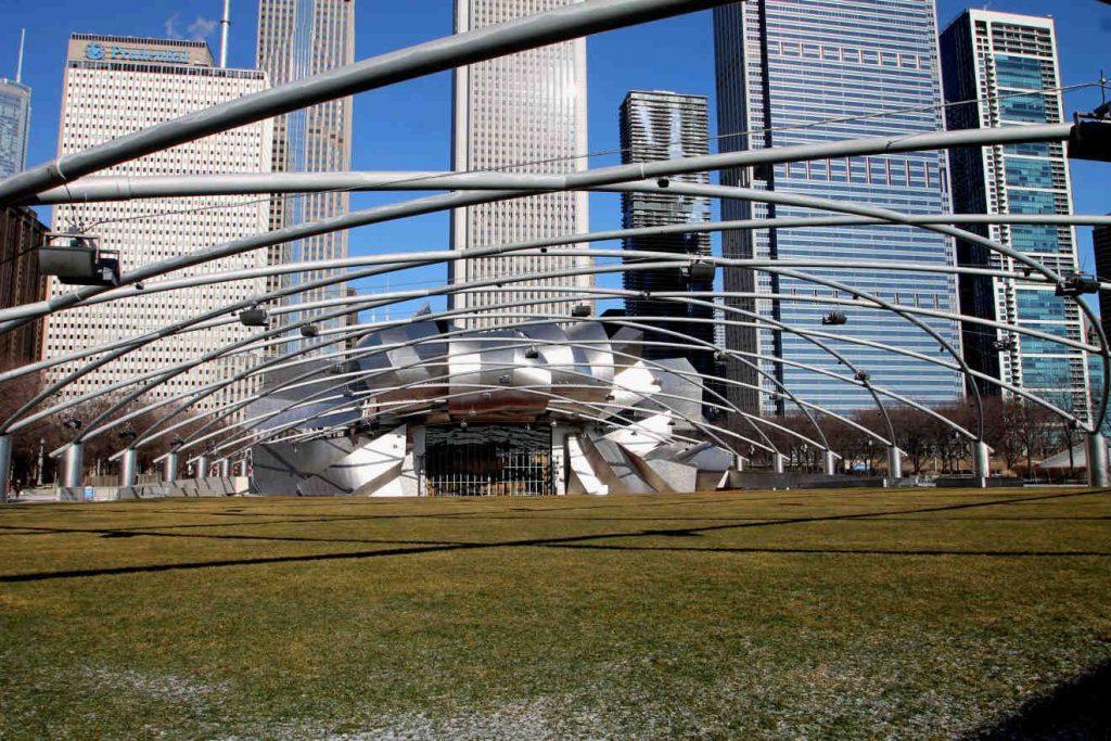 Jay Pritzker Pavilion Millennium Park | Footsteps of a Dreamer