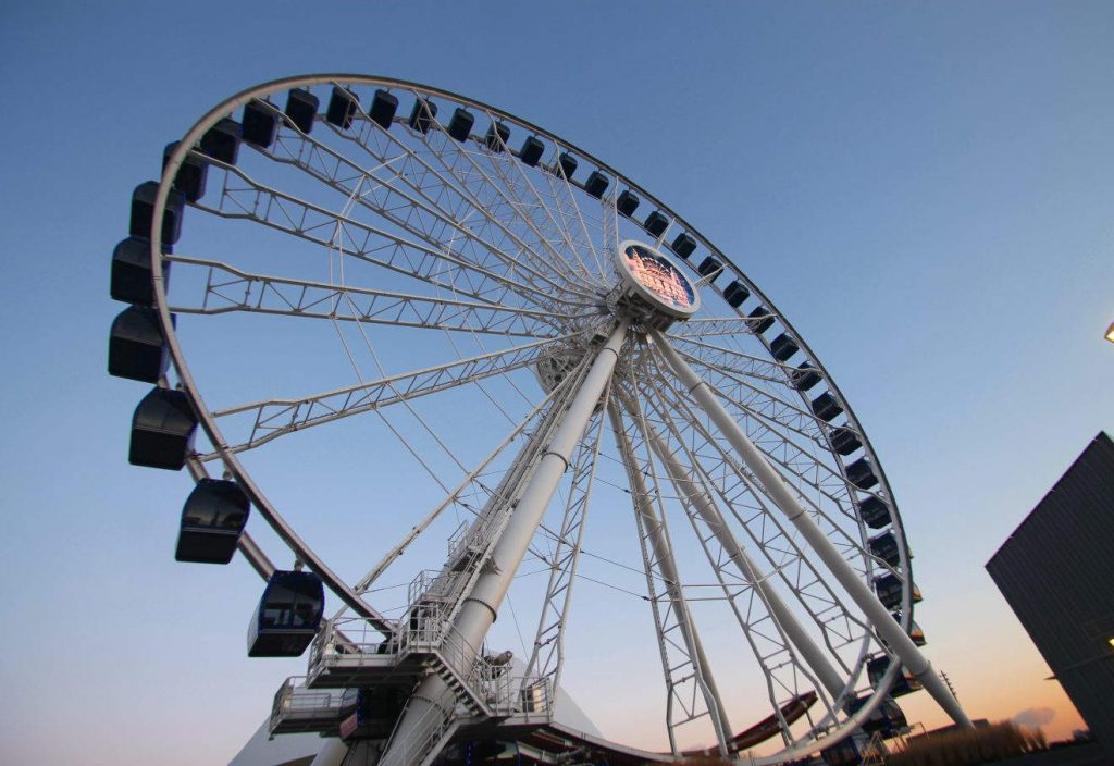 Navy Pier Ferris Wheel Centennial Wheel | Footsteps of a Dreamer