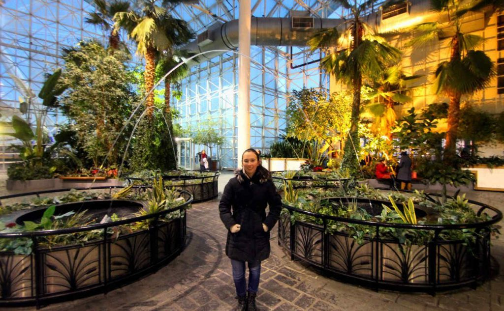 Crystal Gardens at Navy Pier Chicago | Footsteps of a Dreamer