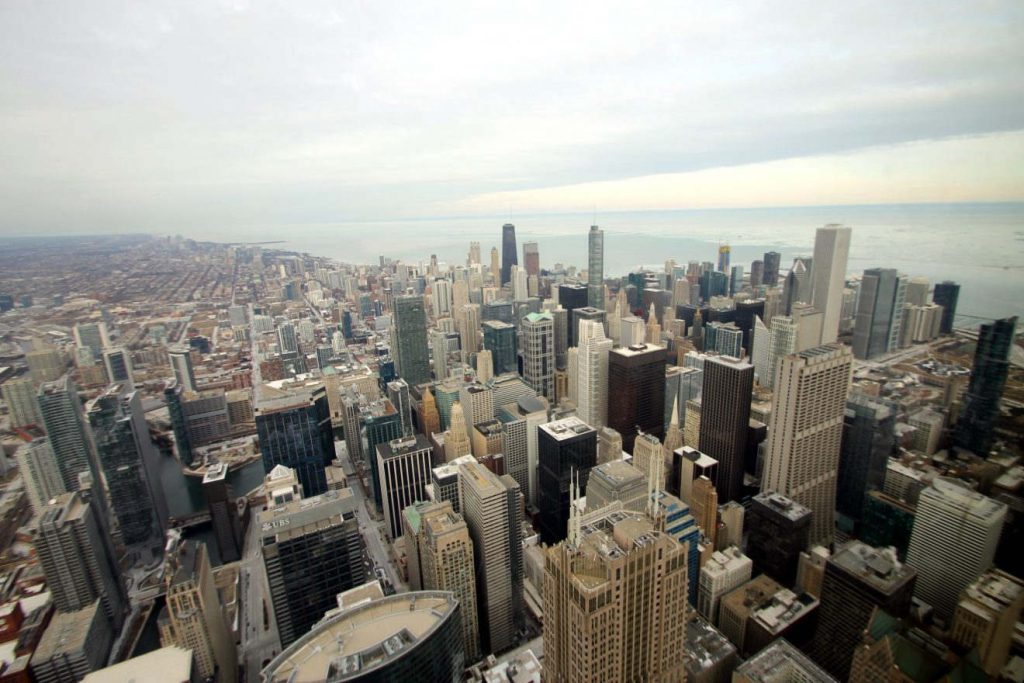 View from the Chicago Skydeck | Footsteps of a Dreamer