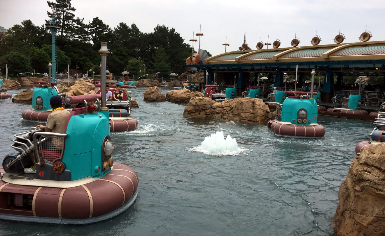 Aquatopia at Tokyo DisneySea | Footsteps of a Dreamer