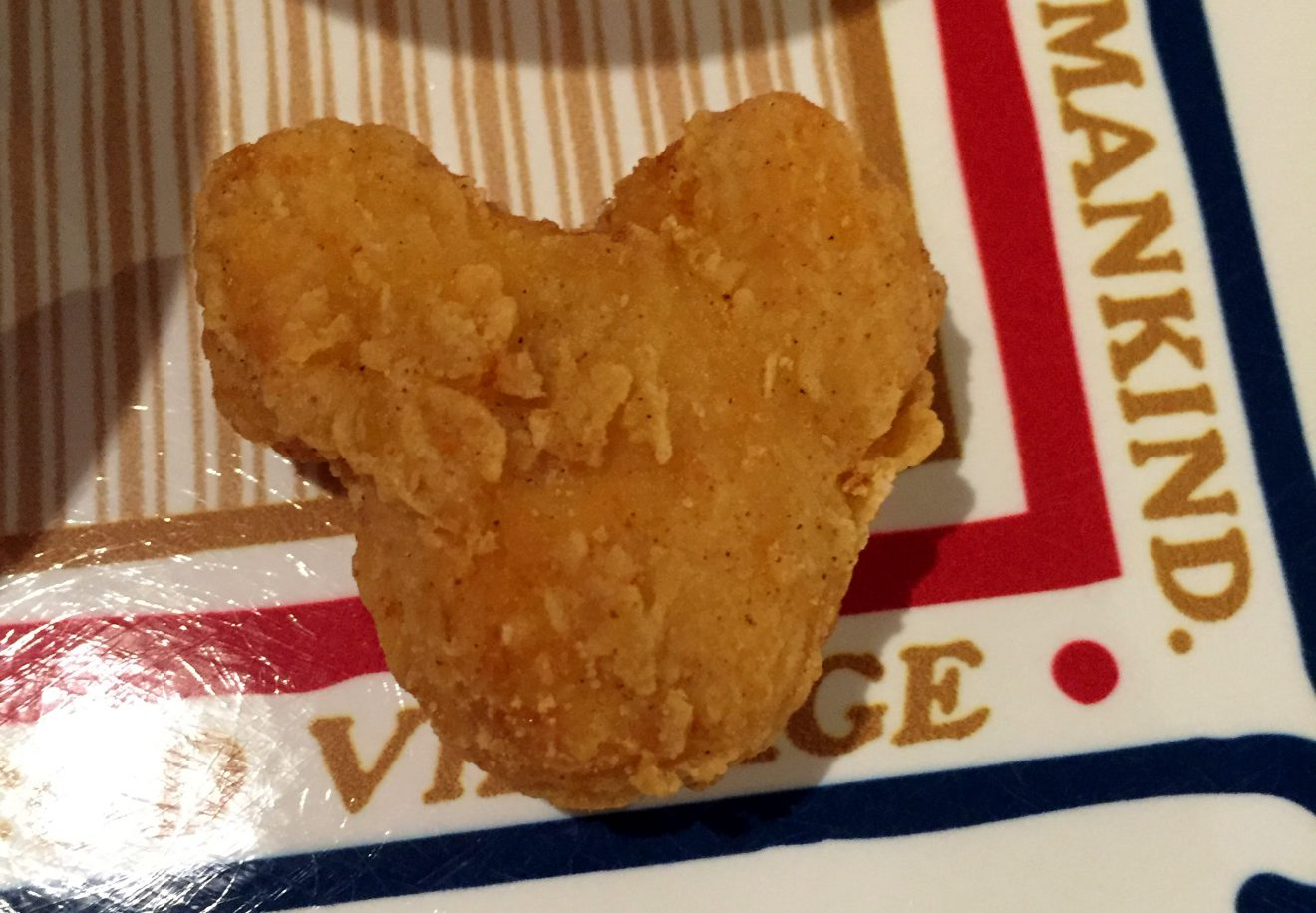 Mickey Mouse Chicken Nuggets at Tokyo DisneySea | Footsteps of a Dreamer