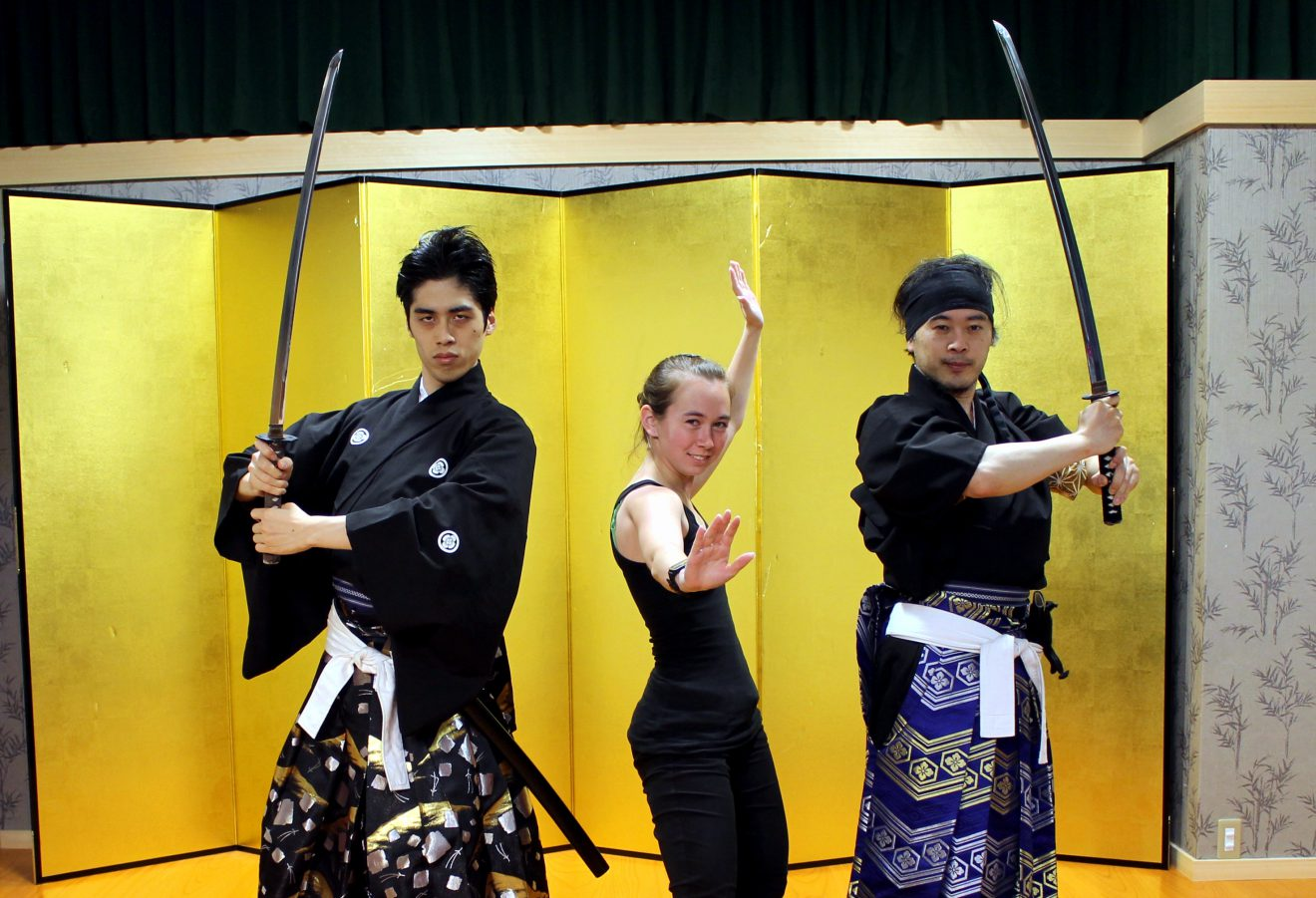 Samurai Kembu Theater Demonstration Show | Footsteps of a Dreamer