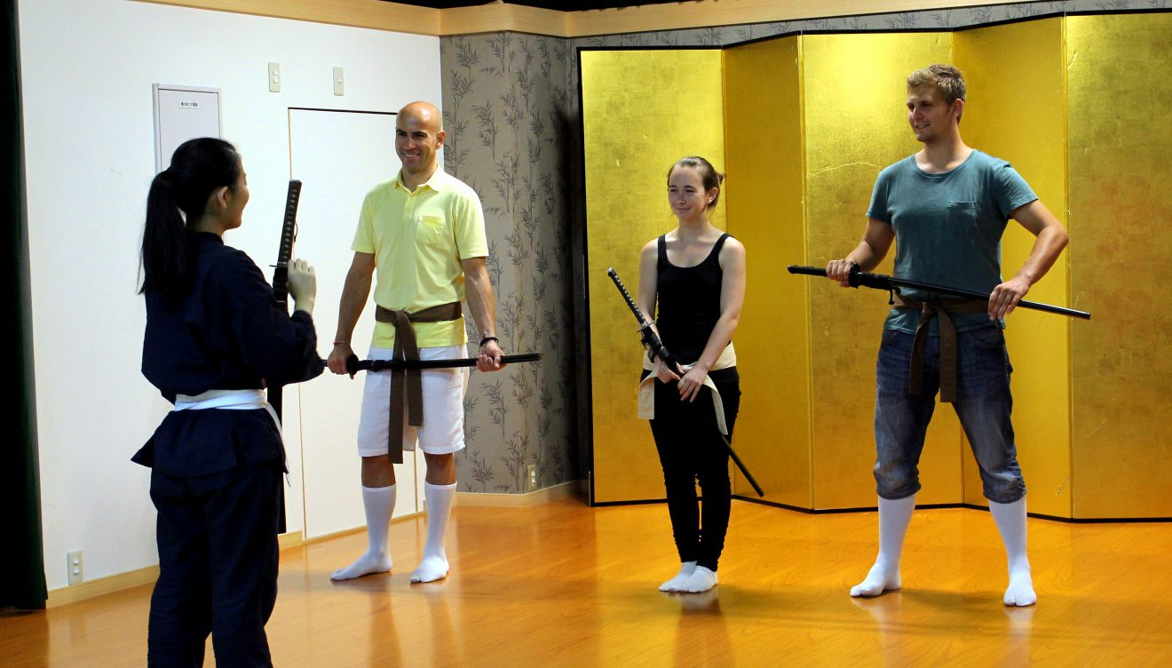 Lessons at Samurai Kembu Theater | Footsteps of a Dreamer