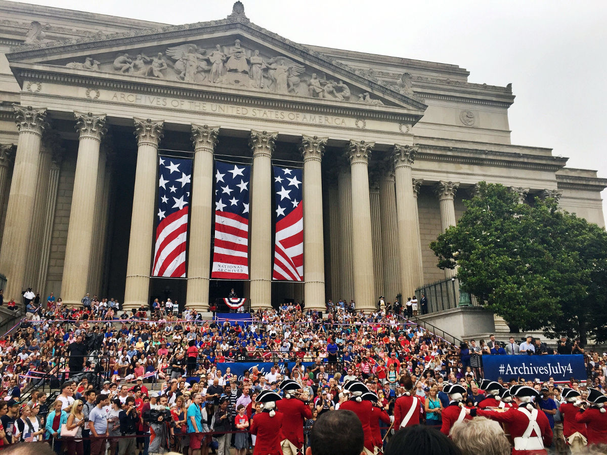 4th of July in Washington D.C. | Footsteps of a Dreamer