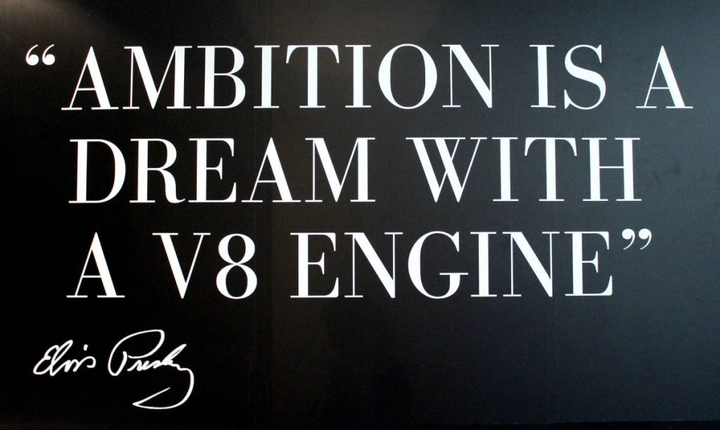 Presley Motors Quote | Footsteps of a Dreamer