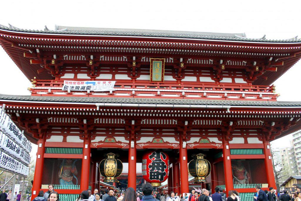 Kaminarimon Sensoji | Footsteps of a Dreamer