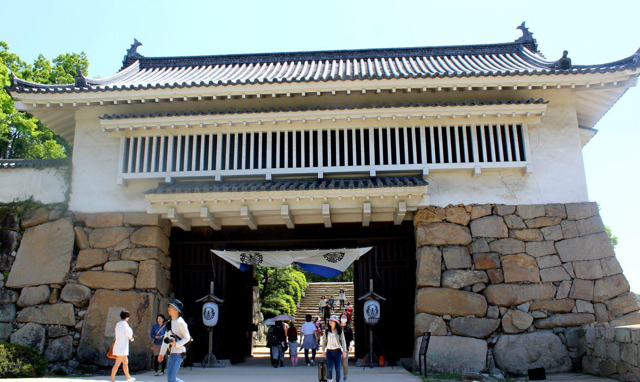 Entrance to Okayama Castle