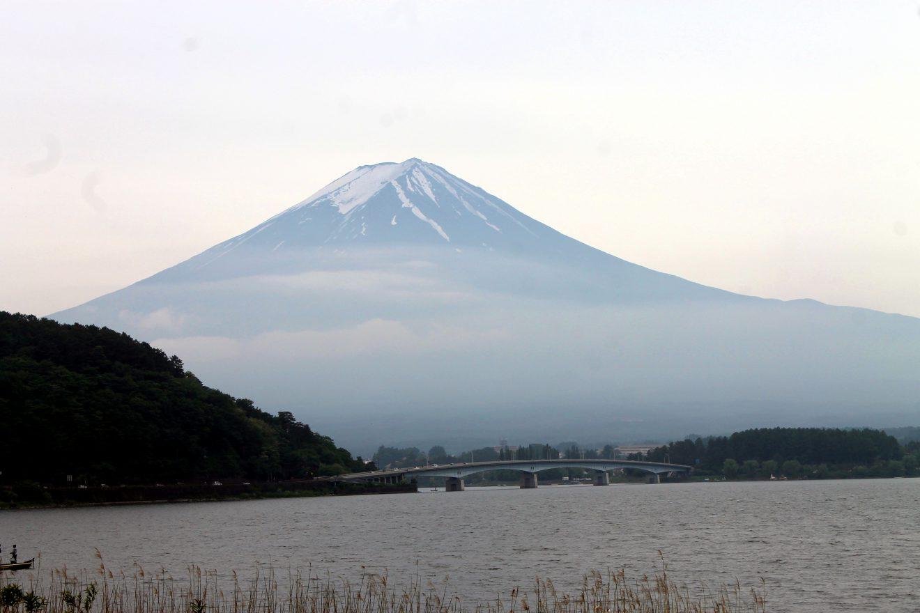 Kawaguchiko Lake and Mt. Fuji