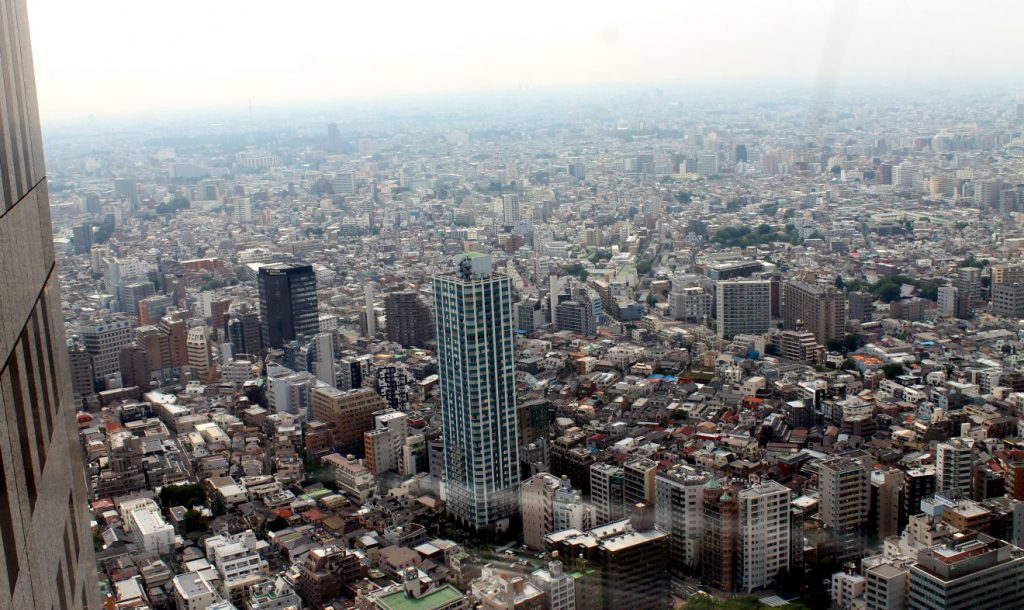 View from the Tokyo Metropolitan Government Building | Footsteps of a Dreamer
