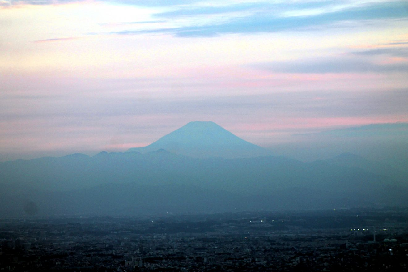 Mt. Fuji view from Tokyo Sky Tree