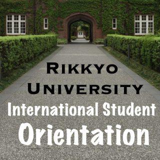 International Student Orientation at Rikkyo University