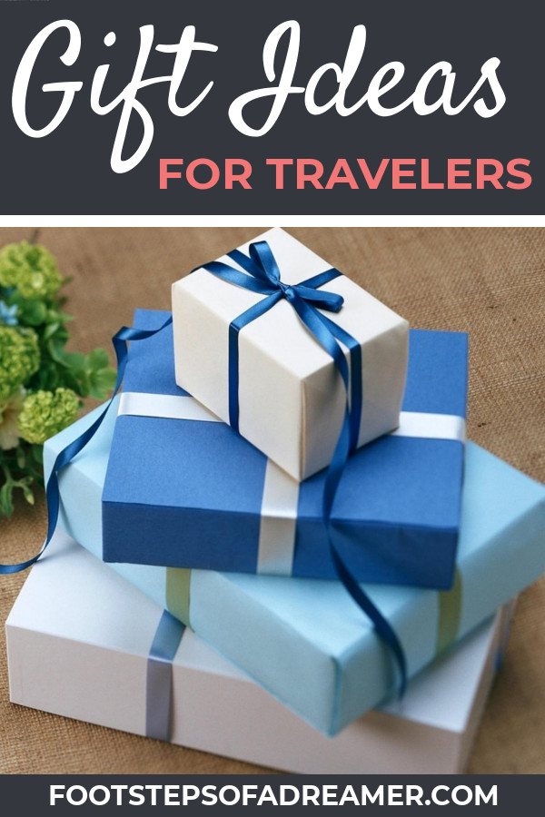 Gifts for Travelers | Footsteps of a Dreamer
