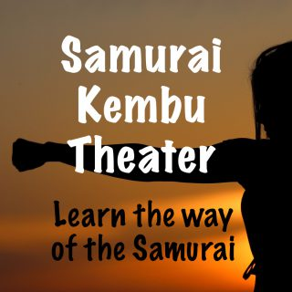 Learn to Be a Samurai at Samurai Kembu Theater in Kyoto, Japan