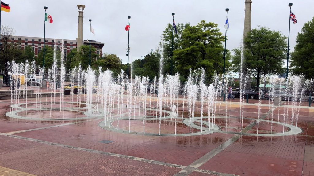 Centennial Olympic Park, Atlanta, Georgia | Footsteps of a Dreamer