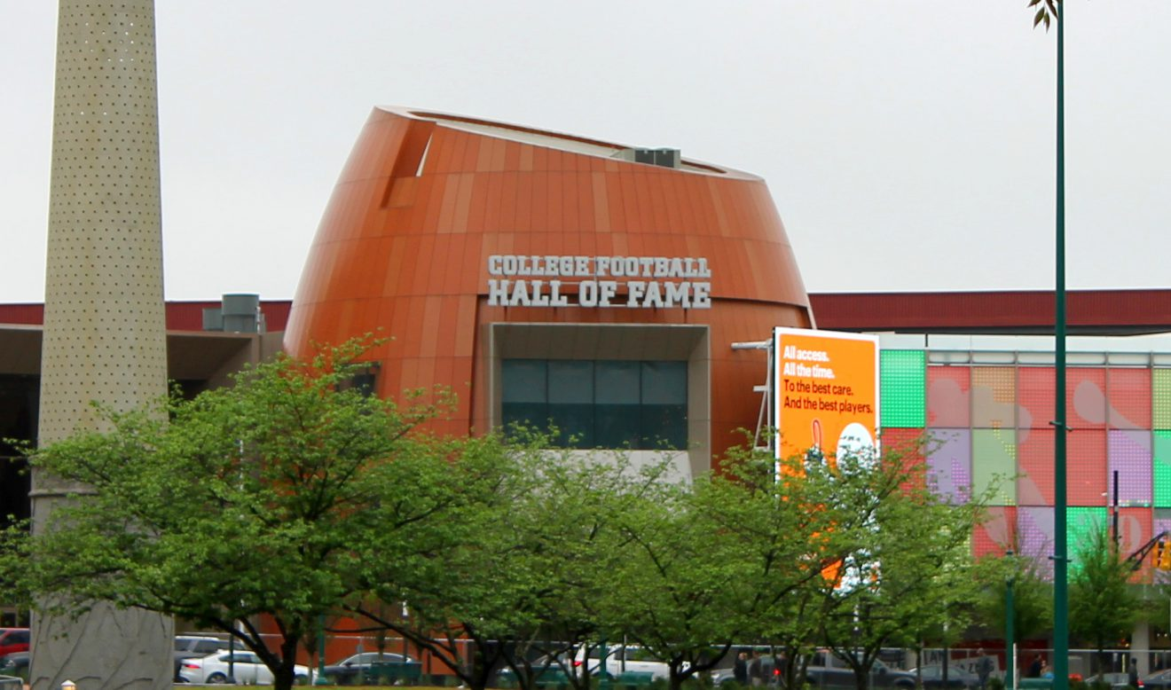 College Football Hall of Fame, Atlanta, Georgia | Footsteps of a Dreamer