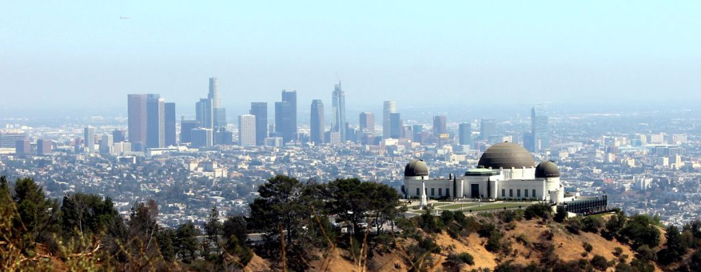 Griffith Observatory and Los Angeles Skyline | Footsteps of a Dreamer