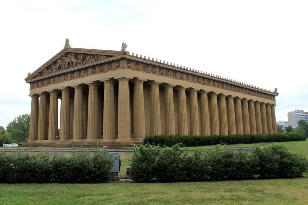 Centennial Park Parthenon | Footsteps of a Dreamer