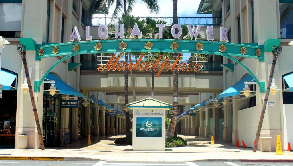 Aloha Tower | Footsteps of a Dreamer