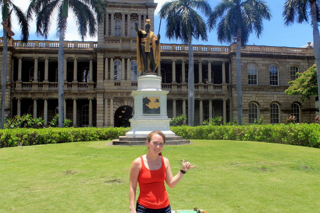 King Kamehameha Statue | Footsteps of a Dreamer