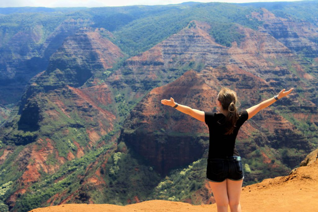 Waimea Canyon View | Footsteps of a Dreamer