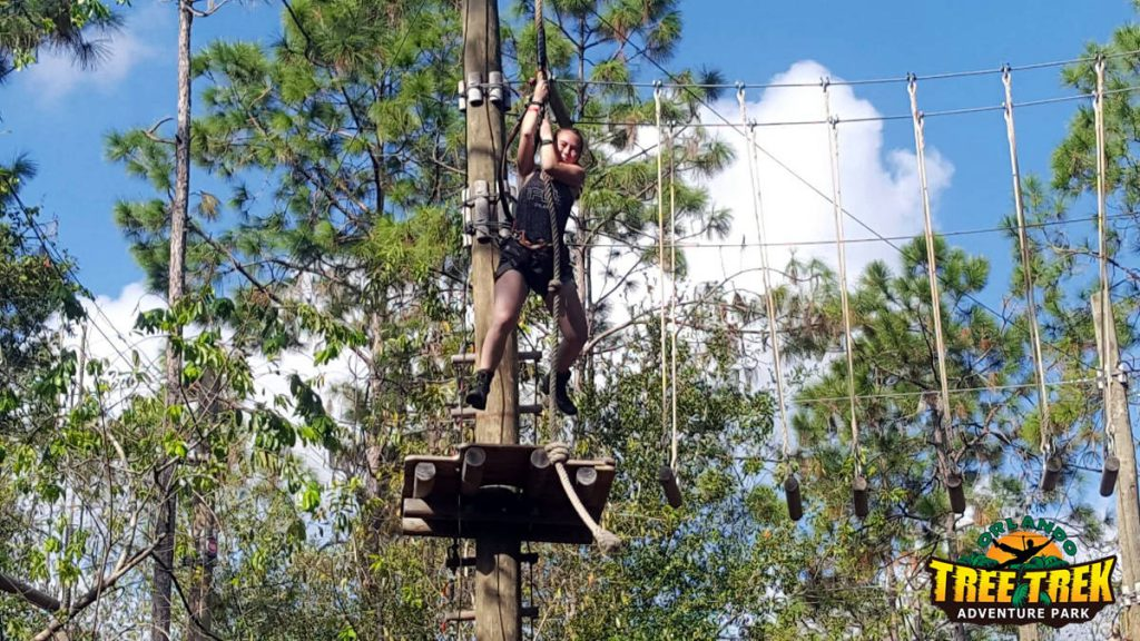 Orlando Tree Trek Adventure Orlando Florida | Footsteps of a Dreamer