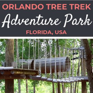 Orlando Tree Trek Adventure Park Review | Footsteps of a Dreamer