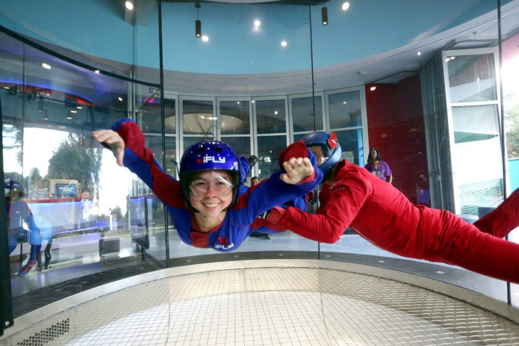 iFly Indoor Skydiving Flight Chamber | Footsteps of a Dreamer