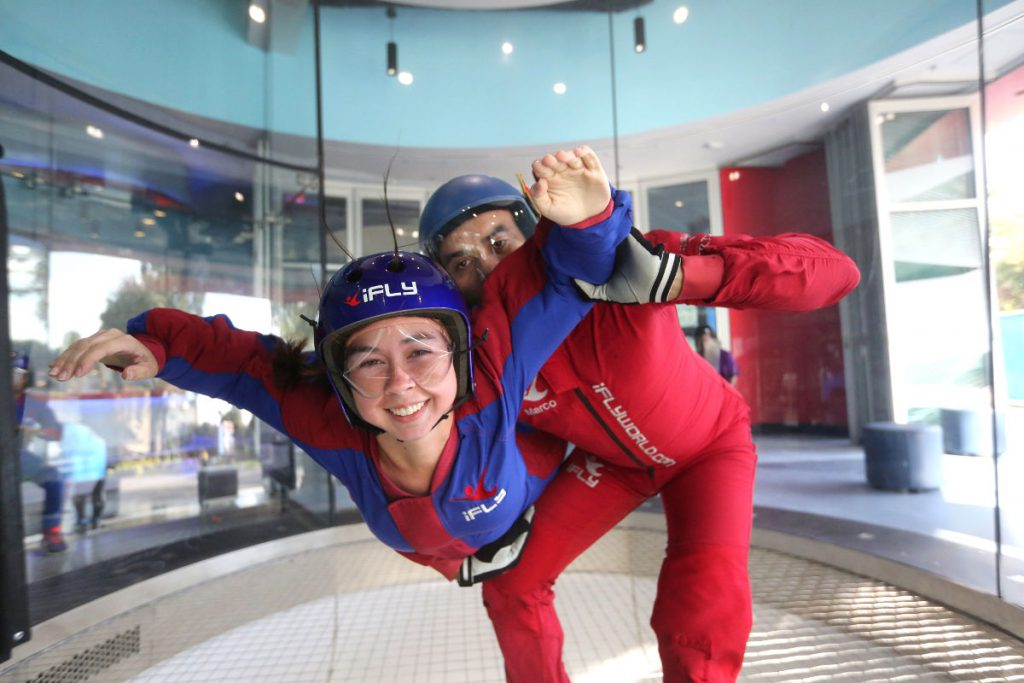 iFly Indoor Skydiving Orlando Florida | Footsteps of a Dreamer