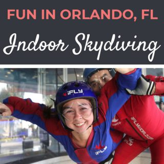 iFly Indoor Skydiving Review | Footsteps of a Dreamer