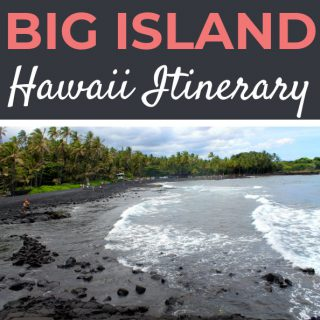 Hawaii 3 Day Big Island Itinerary